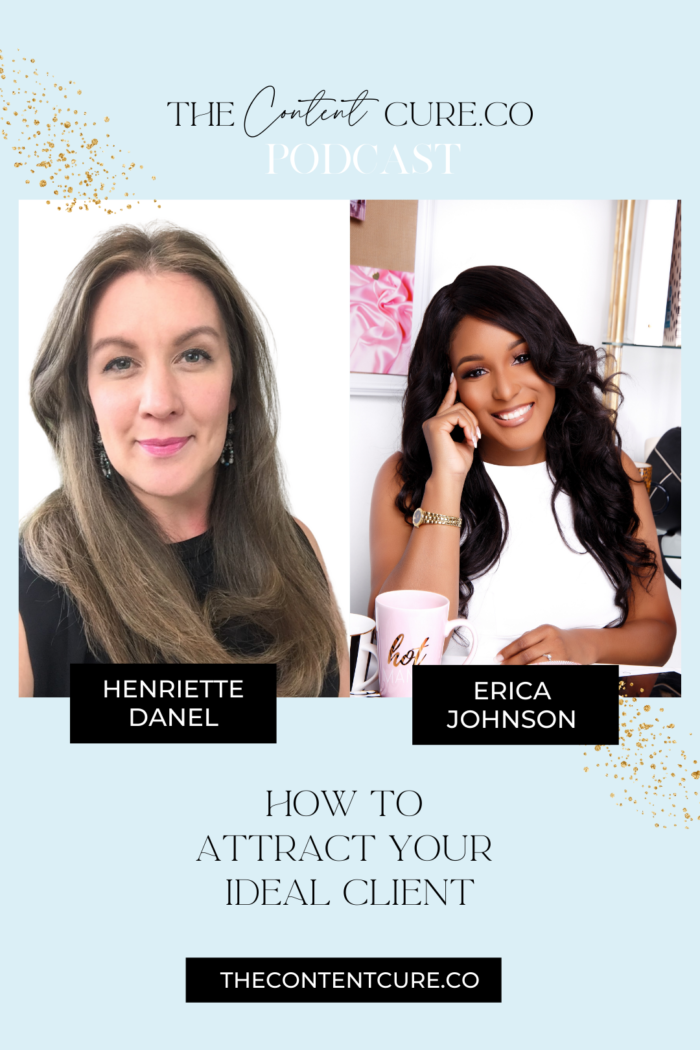 How to Attract More Clients with Henriette Danel (video and audio podcast)